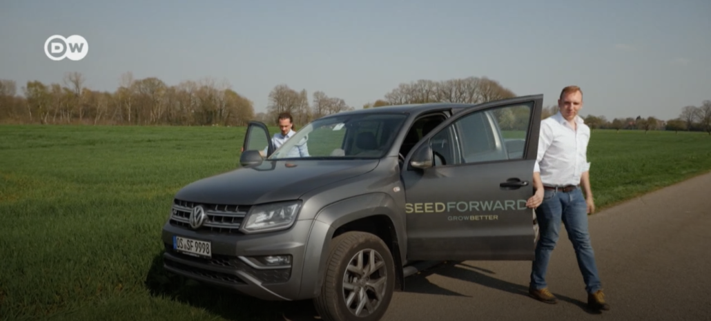 Deutsche Welle TV visits SeedForward