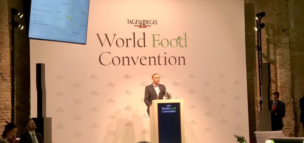 SeedForward at the World Food Convention 2019