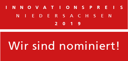 We were nominated for the Lower Saxony Innovation Award